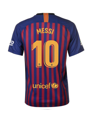Messi Fc Barcelona 18 19 Home Jersey My Lucky Jersey