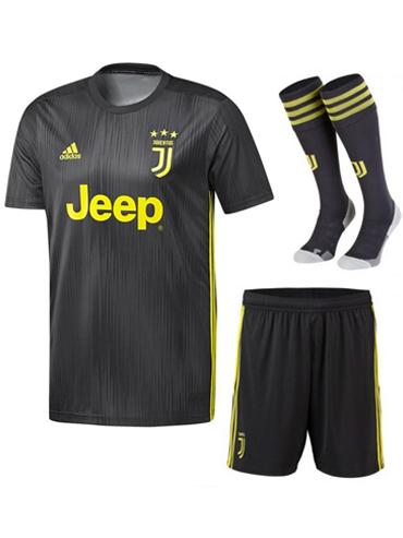 more photos ea8cf 0e64c Juventus 18/19 Third Whole Kit