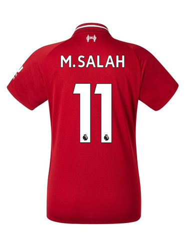 premium selection 97dea 9051b Mohamed Salah Liverpool 18/19 Home Jersey