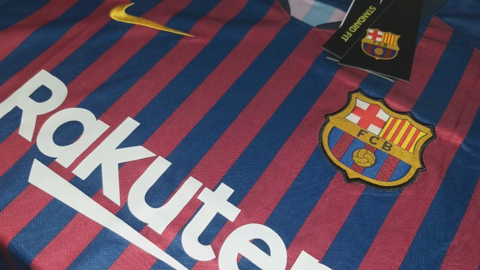 separation shoes b44e3 17c53 Messi FC Barcelona 18/19 Home Jersey
