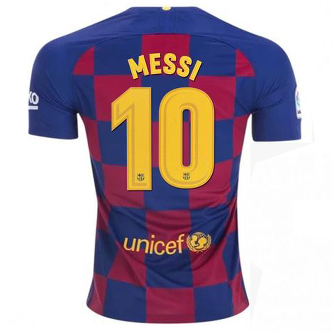 half off a4eb4 a3936 Messi FC Barcelona 19/20 Home Jersey
