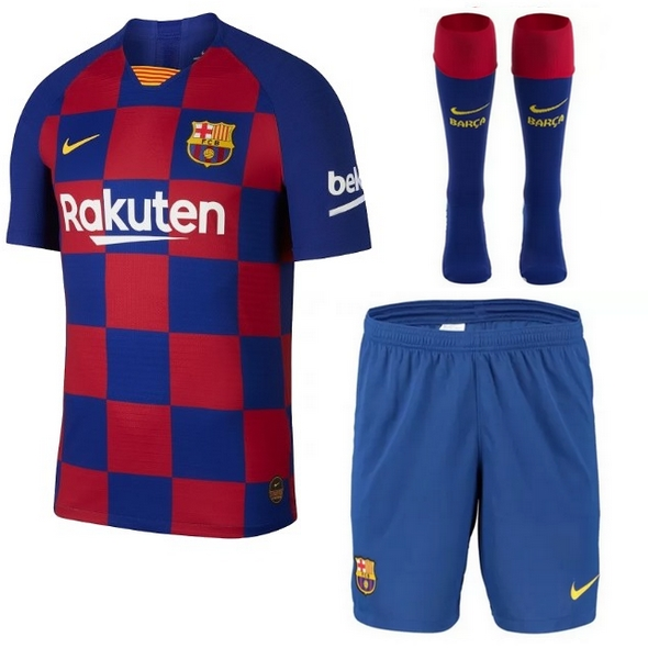 Barcelona While Kit 19 20 Home Jersey My Lucky Jersey