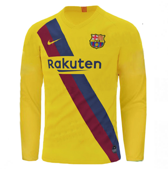 barcelona long sleeve jersey
