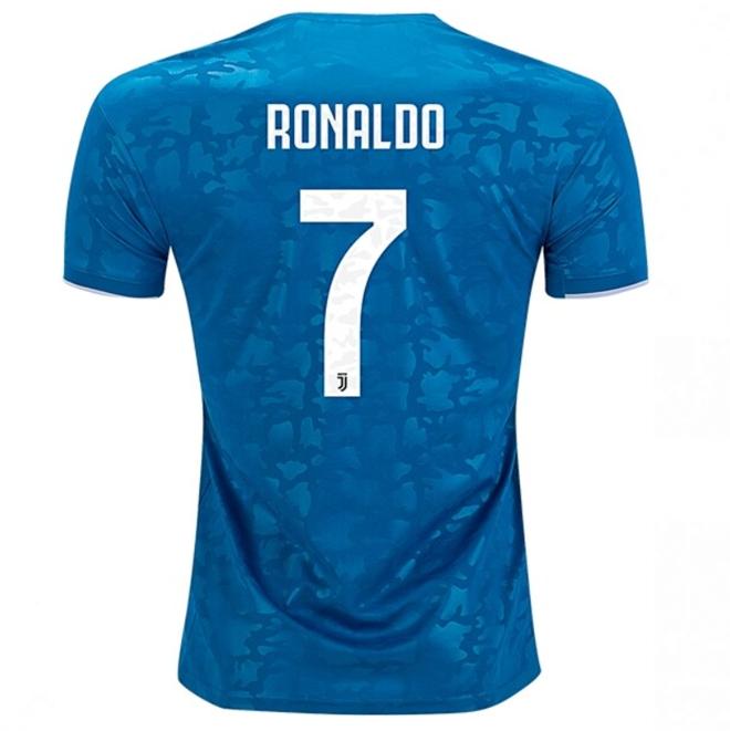 Cristiano Ronaldo Juventus 19 20 Third Jersey My Lucky Jersey